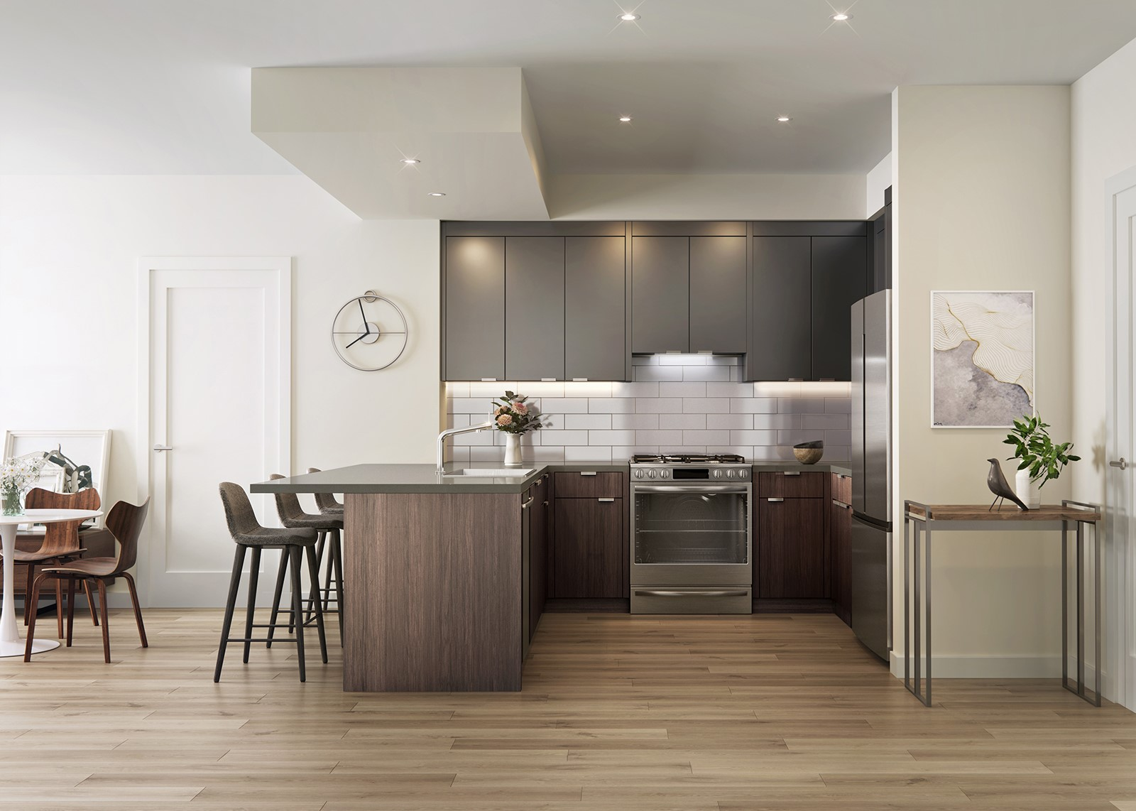 The Linden Condo Kitchens