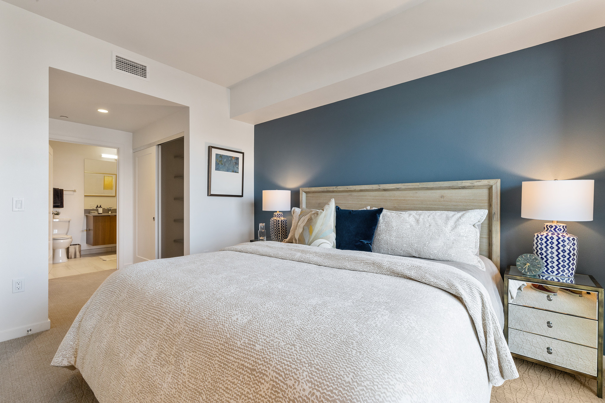 picture of a condo bedroom
